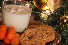 Snack for Santa and reindeer  by Judee Schofield