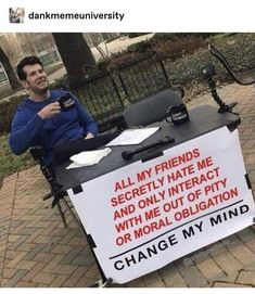 Funny Relatable Memes, Funny Posts, Funny Quotes, Life Quotes, Mental Health Memes, Maladaptive Daydreaming, Bad Memes, Memes Humor, Great Memes