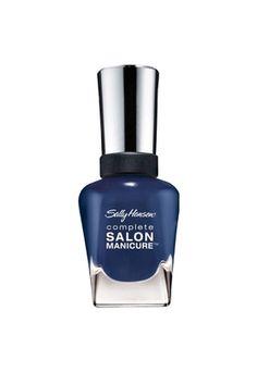 "Achei lindo esse esmalte azul para o Inverno 2013! SALLY HANSEN, Esmalte ""Thinking Of Blue"", R$ 38,90."