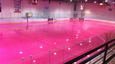 pink ice   Skating on Pink Ice for Breast Cancer Awareness
