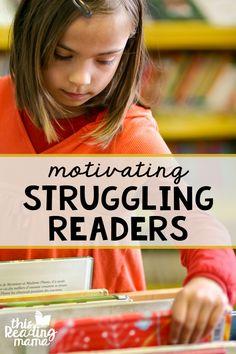 Motivating Struggling Readers - This Reading Mama