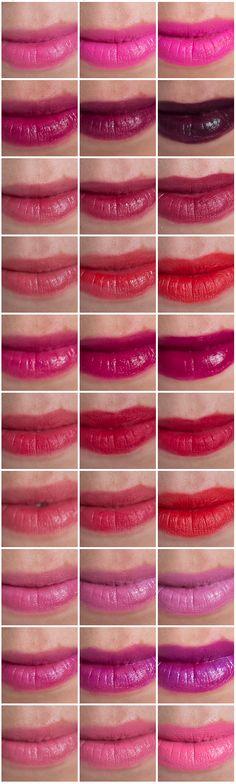3 different ways to wear bold lipsticks Beauty Makeup, Hair Makeup, Bold Lipstick, Beauty 101, Beauty Essentials, Lipsticks, Fashion Beauty, Mad, Blush