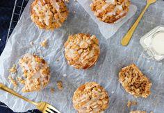 Crumble muffins met kaneel en icing – SINNER SUNDAY