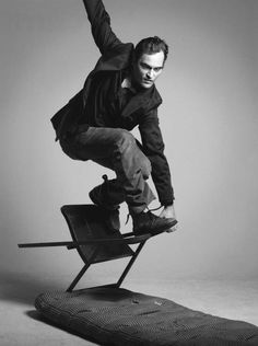 Joaquin Phoenix.  Such a great actor and activist for animal rights.  Born in Puerto Rico.