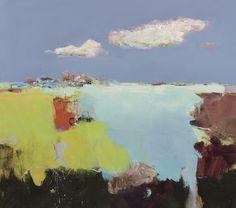 Jan Groenhart - meertje in het landschap