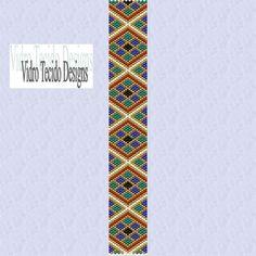 Mosaic 1 Peyote Pattern
