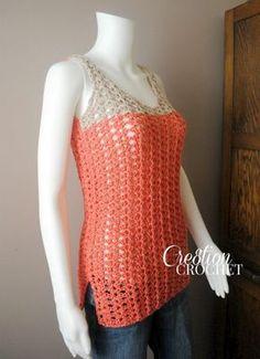 Easy crochet Tank for Beginners