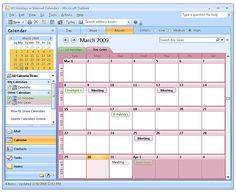 outlook calendar tabs - Google Search Outlook Calendar, Calendar Day, Us Holidays, New Today, Project Management, Microsoft, Golf, Layout, App