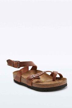 aaf2d452f661 Birkenstock Yara Sandals in Brown