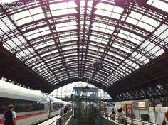 Estructura de la estación de tren de #Colonia #Alemania #InfraIntel