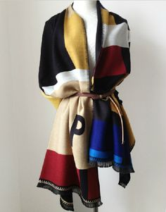 Customized letters scarfAutumn letter cashmere by ScarfHousing