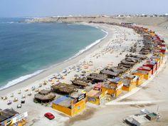 El Silencio beach, Punta Hermosa, Lima, Peru