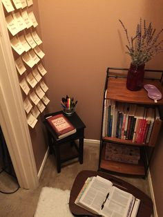 Small But Effective Prayer Closet.
