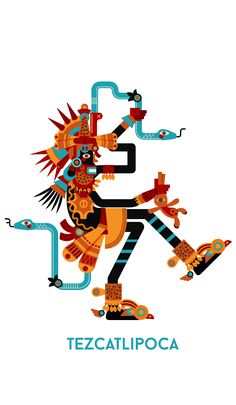Tezcatlipoca & Quetzalcoatl on Behance