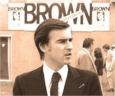 Jerry Brown Welcomes Latino Illegal Immigrants, But Not Vietnamese Boat People in 1975 Pat Brown, Jerry Brown, Vietnamese Boat People, Governor Of California, College Board, Election Day, Attorney General, Community College, Democratic Party