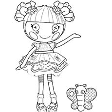 lalaloopsy coloring pages free printables - Lalaloopsy Coloring Pages