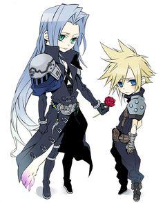 Sephiroth x Cloud <3