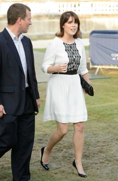 MYROYALS  FASHİON: The Coronation Festival Evening Gala in London July 11, 2013-Peter Phillips and cousin Princess Eugenie