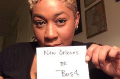 Nola or Bust! Louisiana, New Orleans, Louisiana Tattoo