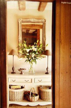 prettystuff:  rrantiques:via The English Home Magazine | May/June 2011