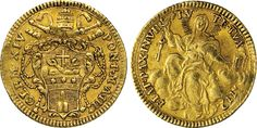 NumisBids: Numismatica Varesi s.a.s. Auction 65, Lot 834 : CLEMENTE XIV (1769-1774) Zecchino 1772 A. III, Roma. CNI 16 ...