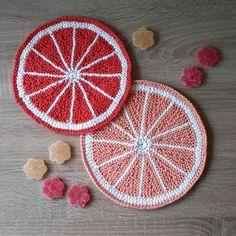 Free+Knitting+Pattern+-+Dishcloths+&+Washcloths+:+Citrus+Fruit+Pothlder