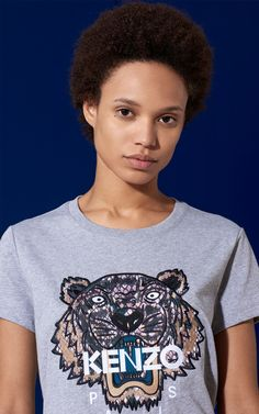 T-shirt 'Tigre Snake' Kenzo | Kenzo.com