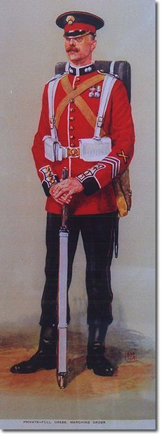 British Empire: British Infantry: The Grenadier Guards, Private Marching Orders