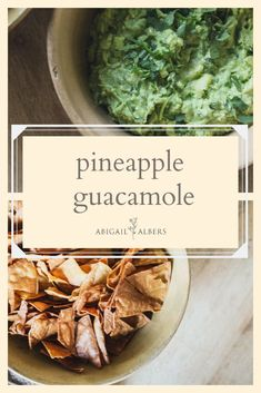 Delicious homemade pinapple guacamole perfect for any get together!