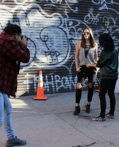 A behind the scenes look into a fashion photoshoot.  Kaitlynathena blog all about fashion, style, and the industry!