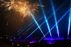 fireworks and lighting by Ultrasound Eventi