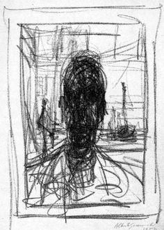 giacometti portretten   Alberto Giacometti - interiér, krajinka a rozmanité konstrukce   4 ...