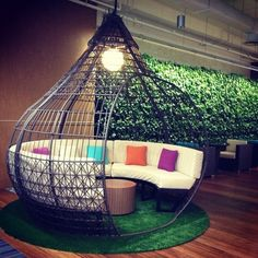 Teardrop wicker sitting lounge for long summer days and nights with friends and family. Room Design Bedroom, Bedroom Furniture Design, Home Room Design, Dream Home Design, Home Decor Furniture, Home Decor Bedroom, Home Interior Design, Kids Bedroom Designs, Small House Design