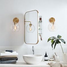 Beautiful master bathroom decor tips. Modern Farmhouse, Rustic Modern, Classic, light and airy master bathroom design a few ideas. Bathroom makeover some ideas and master bathroom renovation ideas. Ikea Bathroom, Bathroom Renos, Bathroom Furniture, Bathroom Storage, Bathroom Organization, Bathroom Mirror Cabinet, Master Bathrooms, Rustic Furniture, Round Bathroom Mirror