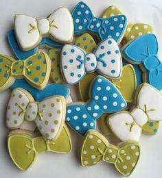 Biscuits au sucre noeud papillon 2 douzaines par SavannaSweets
