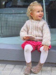 Super Merino Tweedy Sweater