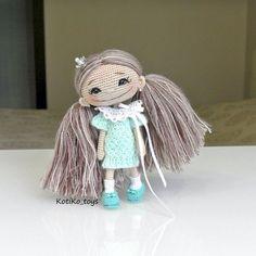 ♡ Happy amigurumi doll. (Inspiration).