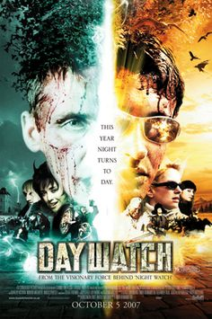 "Featuring the cinematic vision of cutting-edge director/writer Timur Bekmambetov, ""Day Watch"" is the next installment in the best-selling sci-fi novels of Sergei Lukyanenko. When the previous installment, ""Night Watch,"" was released in its native Russia in July 2004, it became an instant smash hit breaking all film gross records in post-Soviet history. A dazzling mix of state-of-the-art visual effects, amazing action sequences and nail-biting horror set in contemporary Moscow"