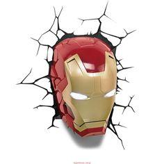 Lampka Iron Man 3D