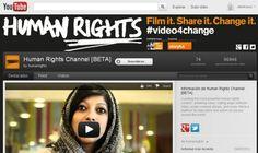 Defensores de los derechos humanos ya tienen su canal en YouTube. Y como no podía ser de otra manera, era necesario impulsar un canal que difunda estos contenidos y promueva la participación. La empresa Witness y  Storyful han hecho posible que Human Rights debute en el sitio de videos.