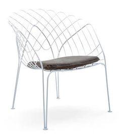 Steel Wire Chair by Philippe Bestenheider for Varaschin
