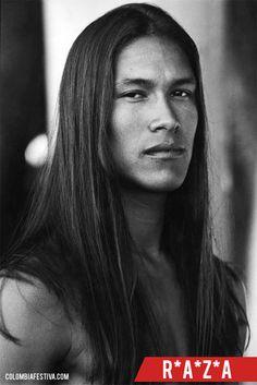 Rertrato de nativo #Americano - pura #Raza