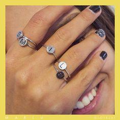 anello con lettera pandora
