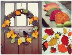 Die besten 25 herbstbl tter vorlagen ideen auf pinterest bulletin boards zum thema herbst - Herbstblatter deko ...