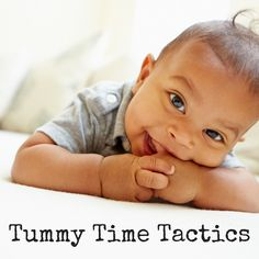 Tummy time/ baby/ play ideas