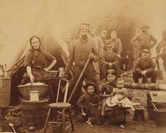 Camp of 31st Pennsylvania Infantry near Washington, D.C, 1862