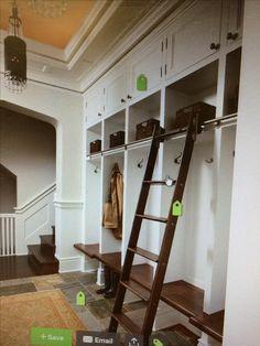 Ladder for butler's pantry?
