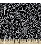 Doctor Who Crackle Cotton Fabric