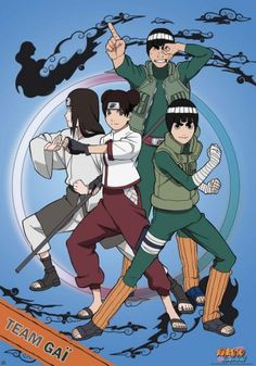 Naruto Shippuden poster Team Gaï http://www.abystyle-studio.com/en/naruto-shippuden-posters/91-naruto-shippuden-poster-team-gai.html