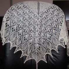 Ravelry: Laminaria pattern -  Heather's Wedding Shawl